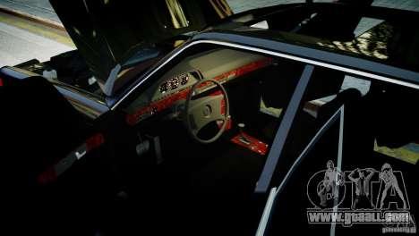 Mercedes-Benz 560 SEL Black Edition for GTA 4 back left view