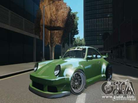 Porsche 911 Turbo RWB Pandora One Beta for GTA 4