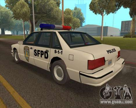 Updated SFPD for GTA San Andreas left view