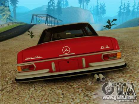 Mercedes-Benz 300 SEL for GTA San Andreas back view