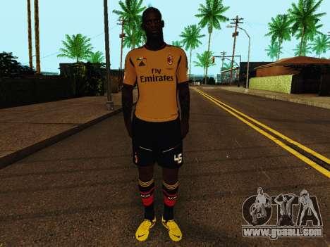 Mario Balotelli v3 for GTA San Andreas