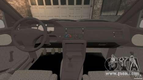 Ford Escort L 1994 Custom for GTA 4 back view