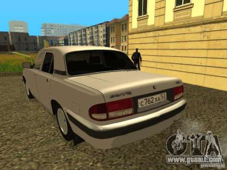 GAZ 3110 Volga for GTA San Andreas left view
