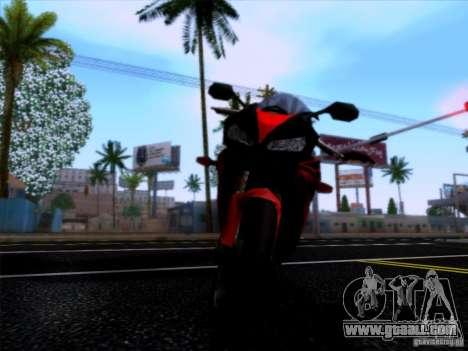 Honda CBR 600 RR for GTA San Andreas right view
