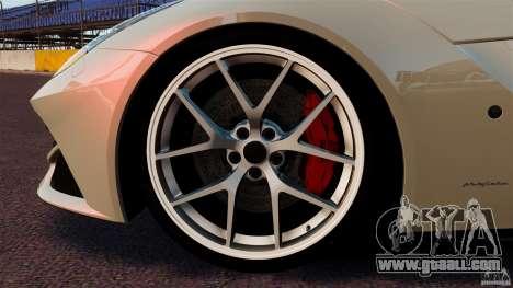 Ferrari F12 Berlinetta DCM for GTA 4 upper view