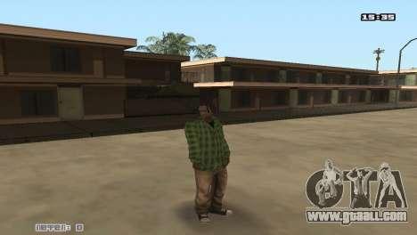 Skin Pack Groove Street for GTA San Andreas third screenshot