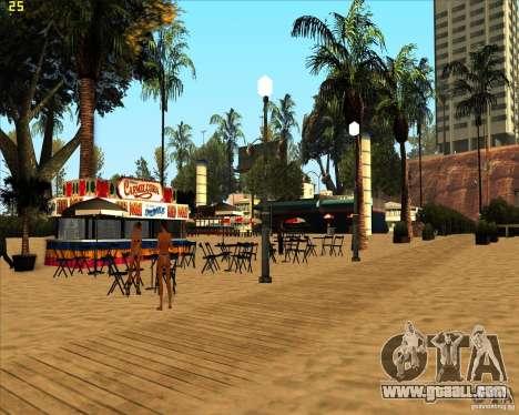 Modern beach in Los-Santos for GTA San Andreas third screenshot