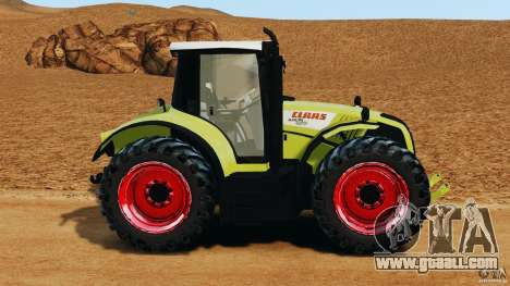 Claas Axion 850 for GTA 4 left view