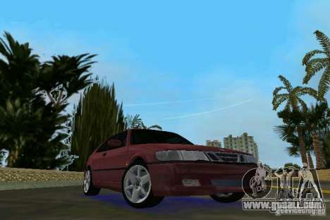 Saab 9-3 Aero 3-door 1999 for GTA Vice City