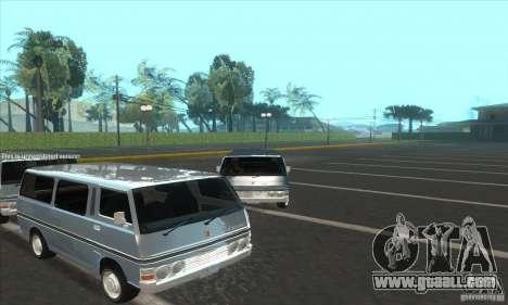 Nissan Caravan E20 for GTA San Andreas right view