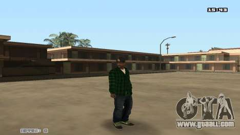 Skin Pack Groove Street for GTA San Andreas