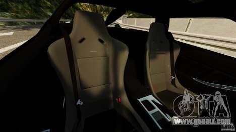 Honda NSX-R GT for GTA 4 inner view