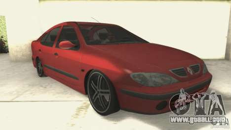 Renault Megane 2000 for GTA San Andreas