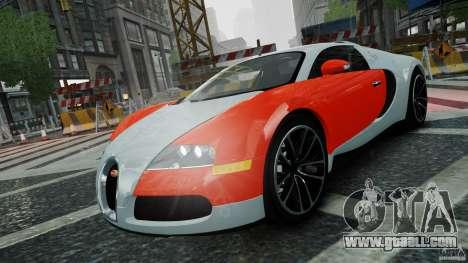 Bugatti Veyron 16.4 v1.0 wheel 1 for GTA 4 side view