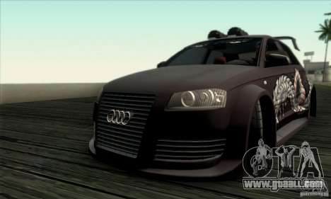 Audi A3 Tunable for GTA San Andreas side view
