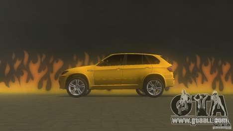 BMW X5 for GTA Vice City left view