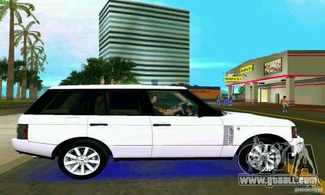 Land Rover Range Rover Supercharged 2008 for GTA Vice City back left view