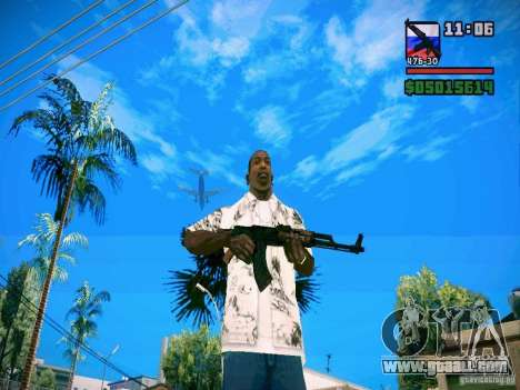 New Weapon Pack for GTA San Andreas second screenshot