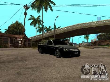 Lada Priora Pickup for GTA San Andreas