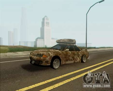 Nissan Skyline R33 Army for GTA San Andreas