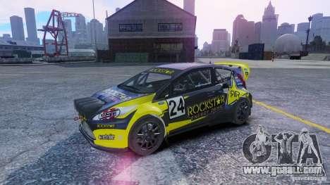 Ford Fiesta Rallycross for GTA 4