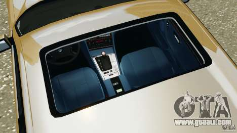 BMW 750iL E38 1998 for GTA 4