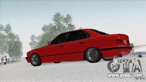 BMW 525i E34 for GTA San Andreas left view