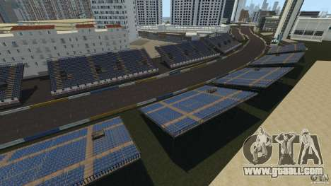 Long Beach Circuit [Beta] for GTA 4 second screenshot