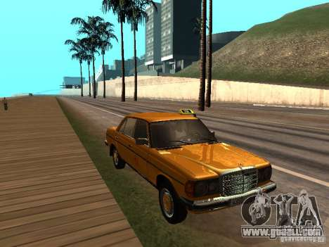 Mercedes-Benz 240D Taxi for GTA San Andreas