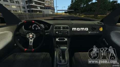 Nissan 240SX Kawabata Drift for GTA 4 back view