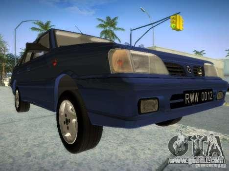 Daewoo-FSO Polonez Atu Plus 1.6 for GTA San Andreas left view