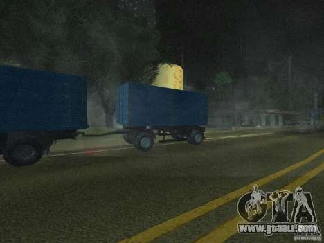 9357 Odaz trailer for GTA San Andreas back left view