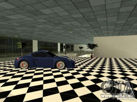 Motor Show Porsche for GTA San Andreas forth screenshot