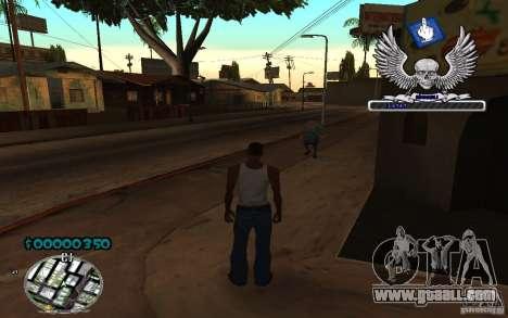 C-HUD awk William for GTA San Andreas second screenshot