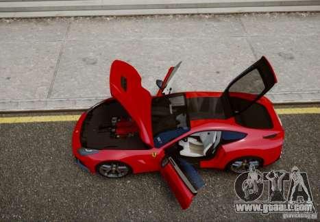 Ferrari F12 Berlinetta 2013 for GTA 4 back left view