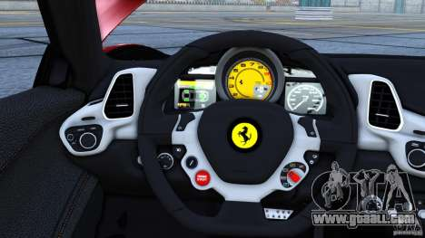 Ferrari 458 Italia 2010 Autovista for GTA 4 left view