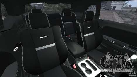 Dodge Challenger SRT8 392 2012 [EPM] for GTA 4 inner view