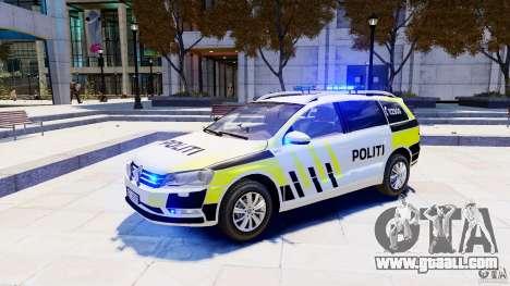 Volkswagen Passat B7 Variant 2012 for GTA 4