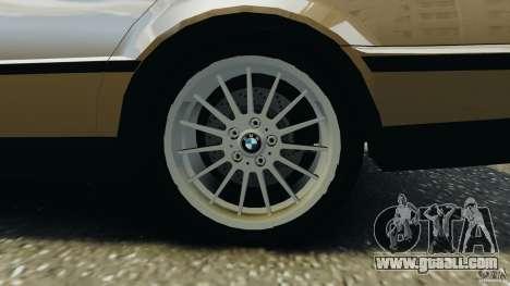 BMW 750iL E38 1998 for GTA 4 interior