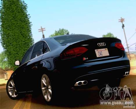 Audi S4 2010 for GTA San Andreas right view