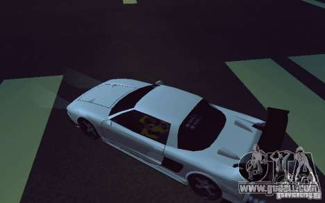 Infernus Tuning for GTA San Andreas back left view