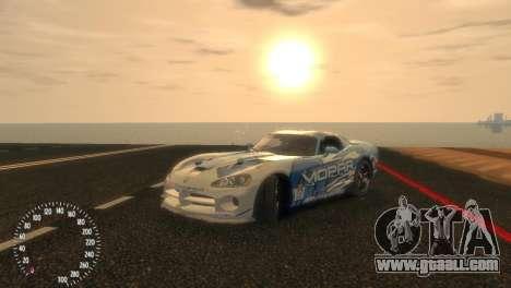 Dodge Viper SRT-10 Mopar Drift for GTA 4