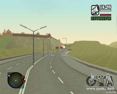 Gosport Road-Nižegorodsk for GTA San Andreas fifth screenshot