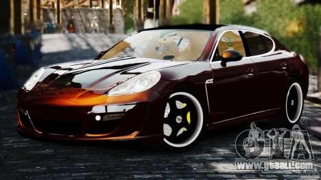 Porsche Panamera Gemballa Mistrale 2010 for GTA 4