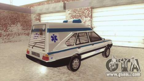 FSO Polonez Cargo MR94 Ambulance for GTA San Andreas left view