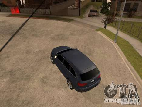 Audi Q7 for GTA San Andreas right view