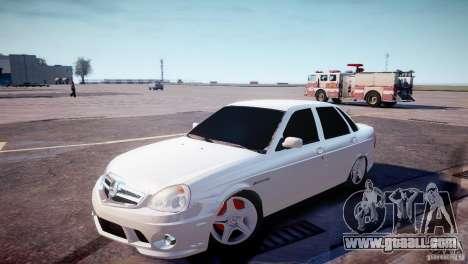 LADA 2170 Priora AMG for GTA 4 left view