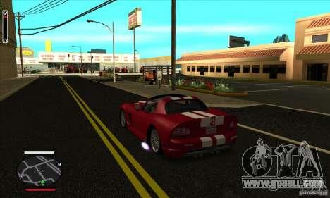 HUD for SAMP for GTA San Andreas second screenshot