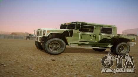 HD Patriot for GTA San Andreas