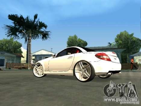 Mercedes Benz SLK 300 for GTA San Andreas left view